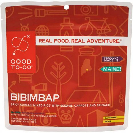 GOOD TO GO MEALS Bibimbap Dehydrated Meal