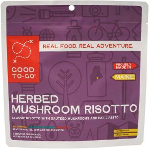 GOOD TO GO MEALS Herbed Mushroom Risotto Dehydrated Meal