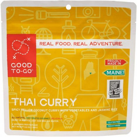 GOOD TO GO MEALS Thai Curry Dehydrated Meal