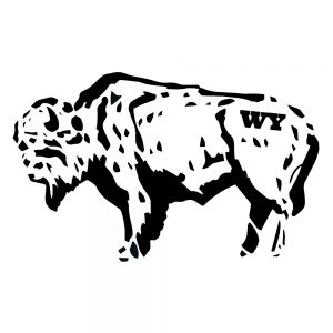 Intrigue Ink Bison Sketch Sticker