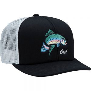 Coal Headwear The Wilds Trucker Hat, Black Fish