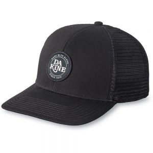 Dakine Circle Crest Trucker Hat, Black