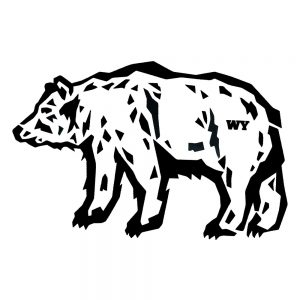 Intrigue Ink Grizzly Bear Sticker