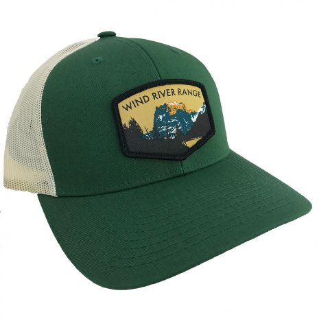 squaretop-trucker-dark-green-birch-front-side