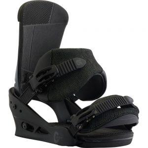 Burton Men's Custom Snowboard Bindings, Black