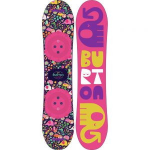 Burton Snowboards Girl's Chicklet Snowboard