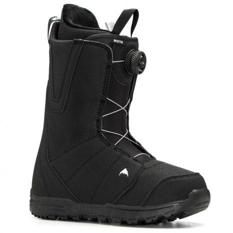 Burton Men's Moto Boa Snowboarding Boots, Black