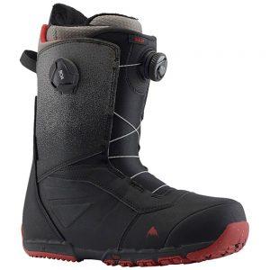 Burton Men's Ruler Boa Snowboarding Boots, Black Fade