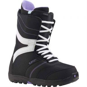 Burton Women's Coco Snowboarding Boots, Black Purple