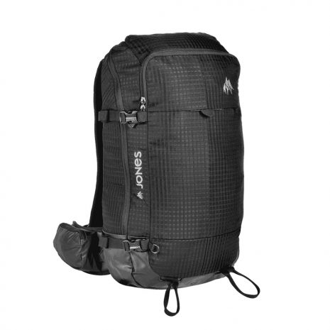 Jones Snowboards DSCNT 25L Backpack, Black