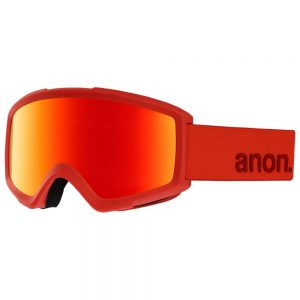 Anon Helix 2.0 Snow Goggles, Red