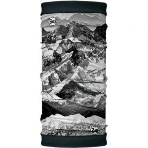 Buff Polar Reversible Neck Gaiter Mountain Vista