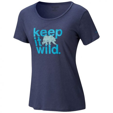 Columbia Sportswear Women's Outdoor Elements Tee, Nocturnal Heather