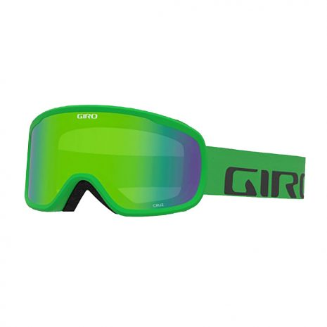 Giro Cruz Goggles, Bright Green Wordmark