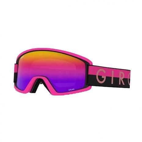 Giro Women's Dylan Goggle, Black Pink Throwback