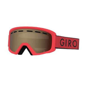 Giro Kids' Rev Goggle, Red Black Zoom