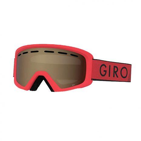 Giro Kids' Rev Goggle, Red Black Zoom