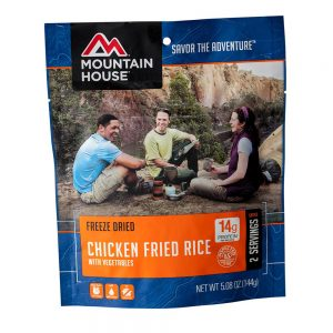 MOUNTAIN HOUSE Chicken Fried Rice Dehydrated Meal