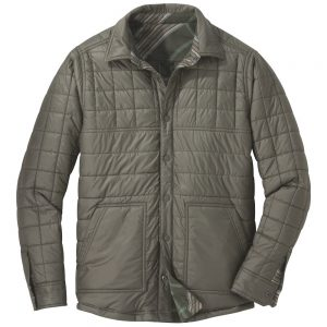 outdoor-research-mens-kalaloch-reversible-shirt-jacket-juniper-plaid-quilted-front-1000