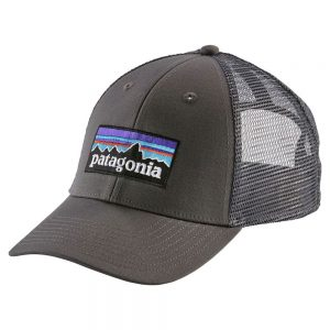 Patagonia P-6 Trucker Hat, Forge Gray