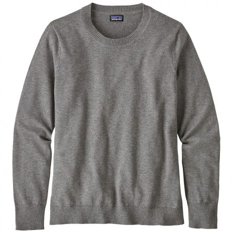 Patagonia Women's Andri Crew Sweater, Feather Gray