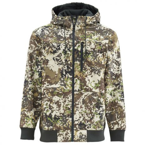 Simms Men's Rogue Fleece Hoody, River Camo