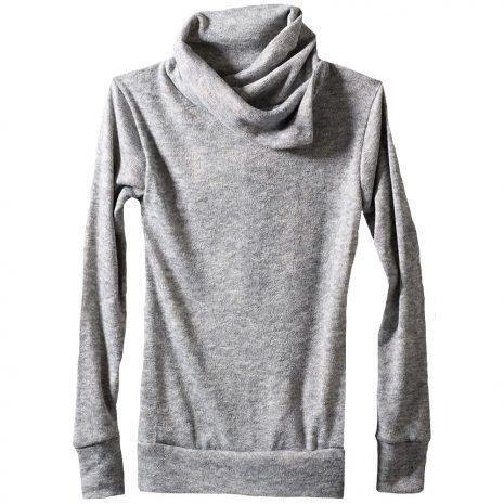 Kavu Women's Sweetie Sweater, Gray
