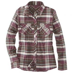 Kuhl Women's Greta Flannel Shirt, Coffee