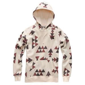 The North Face Women's All-Over Print Hoody, Vintage White Aztec Print