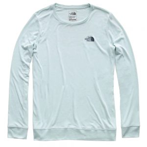 The North Face Women's Twig Town Long-Sleeved Tee, Blue Haze Heather