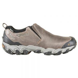 Oboz Footwear Men's Big Sky Low Insulated Waterproof Shoes, Flint Gray