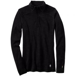 Smartwool Women's Merino 250 Baselayer 1/4 Zip, Black