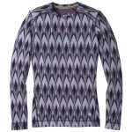 Smartwool Women's Merino 250 Baselayer Pattern Crew, Purple Mist