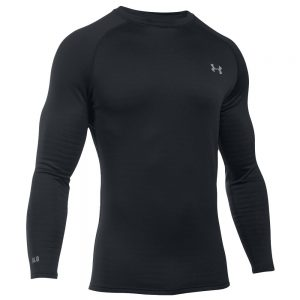 Under Armour Men's UA Base 4.0 Crew, Black