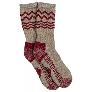 United By Blue Ultimate Bison Socks, Red