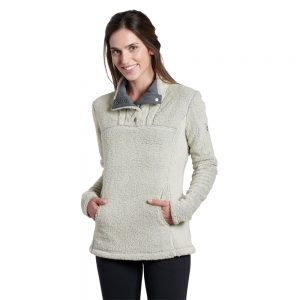 KUHL Women's Avalon Fleece Pullover, Stone