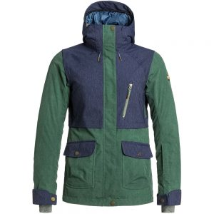 Roxy Women's Tribe Insulated Jacket, Jungle