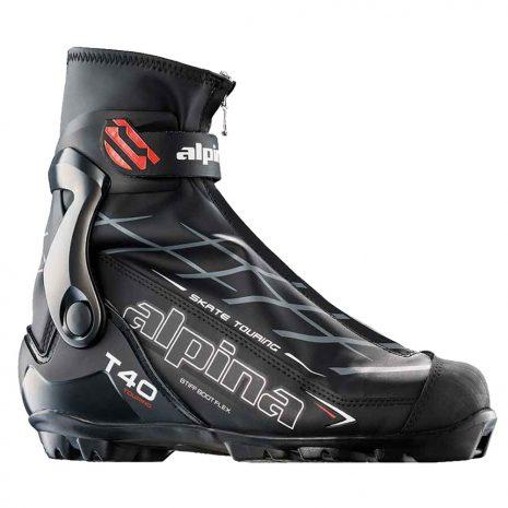 Alpina T40 Skate Touring Boots, Black