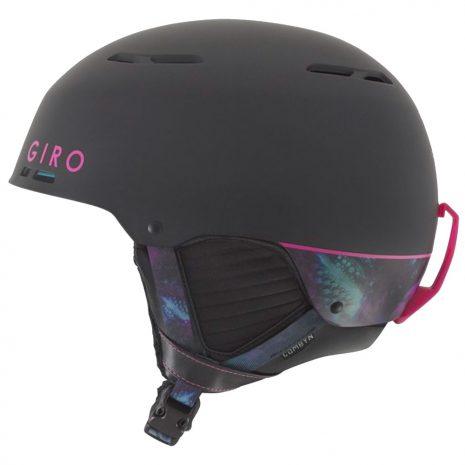 Giro Combyn Snow Helmet, Matte Black Tidepool