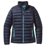 Patagonia Women's Down Sweater Jacket, Navy Strait Blue