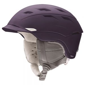 Smith Optics Women's Valence Snow Helmet, Matte Grape