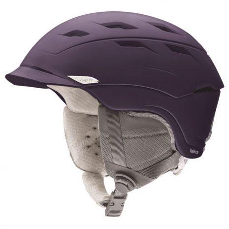 Smith Optics Women's Valence Snow Helmet, Matte Grape