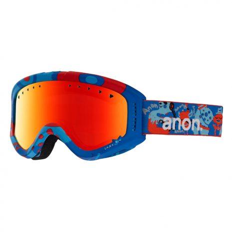 Anon Optics Kids' Tracker Snow Goggles, Party