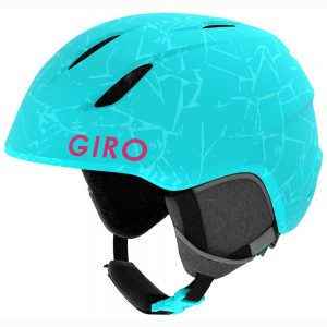 Giro Kids' Launch Snow Helmet, Matte Glacier Rock