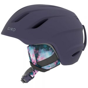 Giro Women's Era Snow Helmet, Matte Midnight Bleached Out