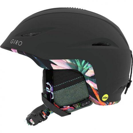Giro Women's Fade MIPS Snow Helmet, Matte Black Electric Petal