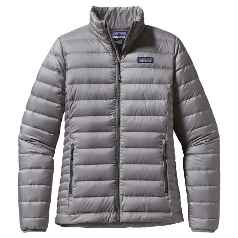 Patagonia Women's Down Sweater Jacket, Feather Gray