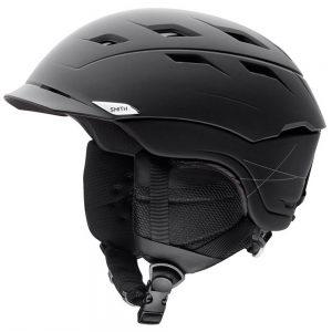 Smith Optics Men's Variance Snow Helmet, Matte Black
