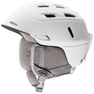 Smith Optics Women's Compass Snow Helmet, Pearl White
