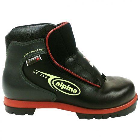 Alpina BC 750 Backcountry Touring Boots, Black